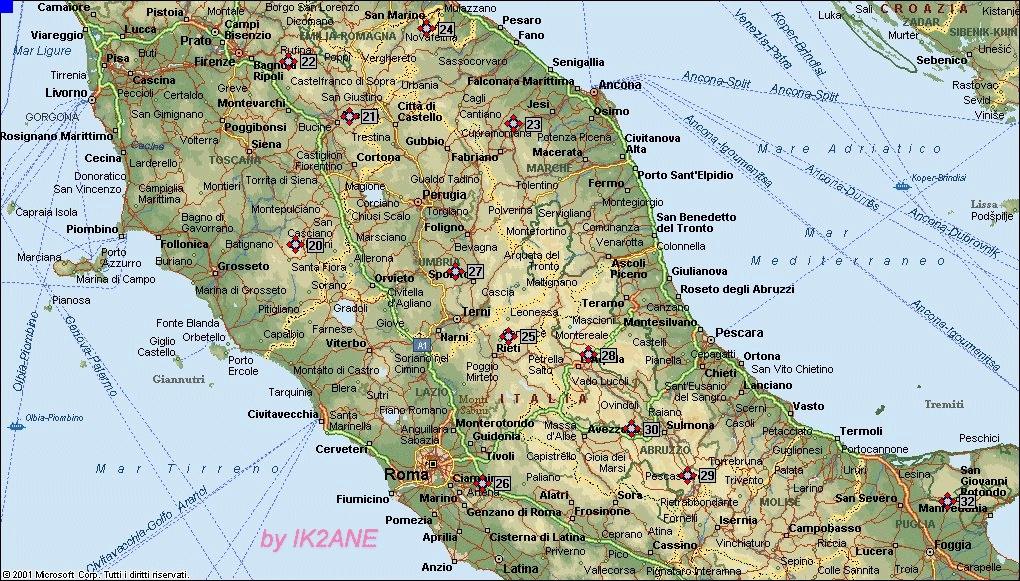 Cartina Fisica Dell Italia Centrale.Il Paesaggio Lacustre Lessons Blendspace